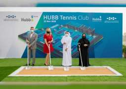 Dubai Silicon Oasis Authority lays foundation stone for Tennis Club at Hi-tech Park