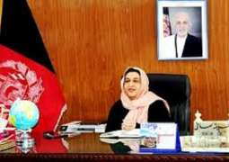 Afghan Minister Urges Int'l Community to Back Afghan Women's Projects on Peace, Prosperity