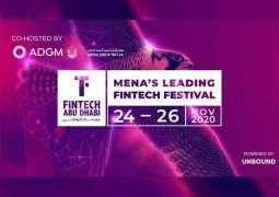 FinTech Abu Dhabi Festival 2020 kicks off tomorrow alongside leading figures of global financial community