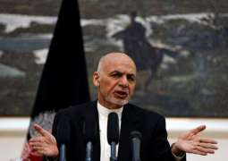 Afghan Government Remains Committed to Peace Talks With Taliban - President Ashraf Ghani