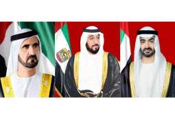 UAE leaders congratulate President of Suriname on Independence Day