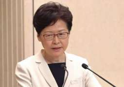 Hong Kong Chief Executive Praises Effectiveness of New National Security Law