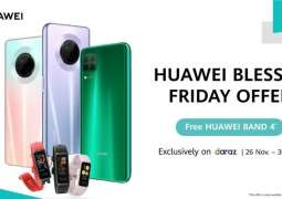 Huawei Brings the Blessed Friday Sale Online on Two of its Hottest Selling Smartphones HUAWEI Nova 7i and HUAWEI Y9a