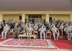 """Chief of Staff of UAE Armed Forces attends conclusion of """"Saif Al Arab"""" military exercise"""