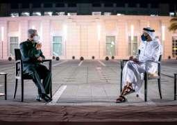 عبدالله بن زايد يستقبل وزير الشؤون الخارجية الهندي