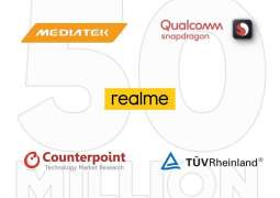 Realme 50 million sales record receives praises from top industry partners