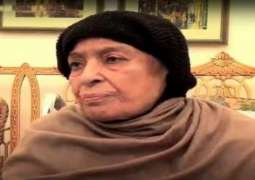 Begum Shamim Akhtar laid to rest in Jati Umra