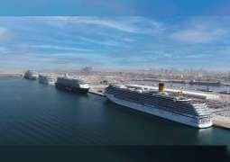 """ميناء راشد يحتفظ بلقب """"ميناء الرحلات البحرية الرائد في العالم"""" ضمن جوائز السفر العالمية 2020"""