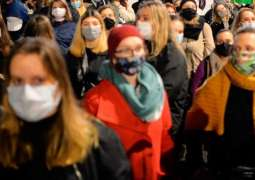 Poland's Warsaw Hit by Protests Against Abortion Ban
