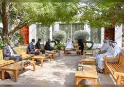 محمد بن راشد يتلقى رسالة من رئيس وزراء الهند