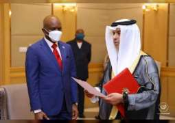 UAE Ambassador presents credentials as non-resident envoy to DRC