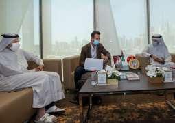 Dubai Sports Council discuss cooperation with Israeli club Hapoel Tel Aviv