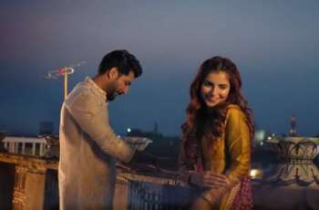 "Momina Mustehsan, Bilal Saeed announce to release  remake of ""Baari 2"" soon"