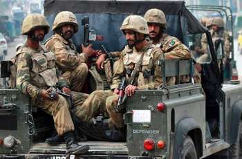 Two terrorists killed in an encounter with security forces, says DG ISPR