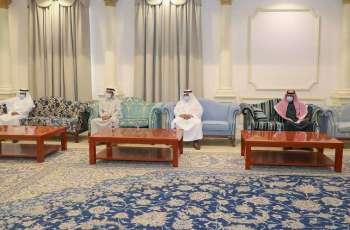 سمو أمير منطقة الجوف يستقبل رئيس وأعضاء مجلس إدارة نادي الجندل