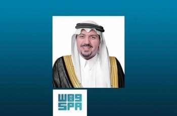 سمو أمير القصيم خلال جلسته الأسبوعية : الملك عبدالعزيز اشتهر بخصلة