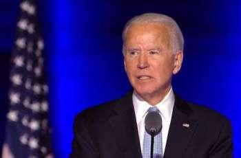 Biden Declares US Presidential Election 'Over', Calls for Unity