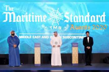 DP World - UAE Region gains recognition for remarkable contribution to Middle East maritime industry