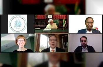 رئيس منتدى تعزيز السلم يلتقي سفير الحريات الدينية في وزارة الخارجية الامريكية