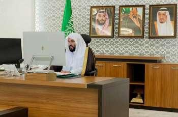 وزير العدل يترأس اجتماع المكتب التنفيذي لمجلس وزراء العدل العرب افتراضيًا