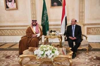 الرئيس اليمني يستقبل سمو نائب وزير الدفاع