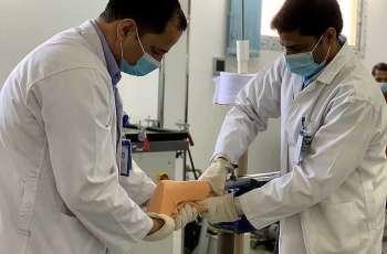 أكثر من 1700 مستفيد من خدمات قسم الأطراف الصناعية في مستشفى الأمير متعب في سكاكا