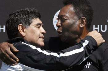 Iconic footballer Pele pays tribute to great friend Maradona