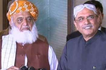 'Zardari asks Maulana Fazl to get rid of Nawaz Sharif'