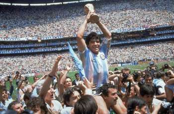 Russian Football Greats Bid Farewell to Argentine Icon Maradona
