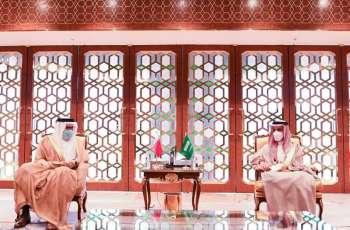 وزيرا خارجية السعودية و البحرين يبحثان الأوضاع الإقليمية و الدولية