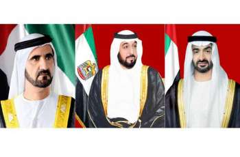 UAE leaders congratulate president of Burkina Faso on re-election