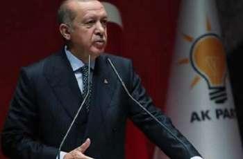 Erdogan Says Discussed Coronavirus Vaccines With Putin