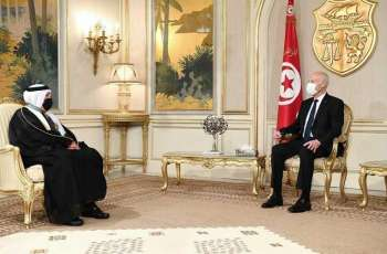الرئيس التونسي يلتقي بسفير المملكة لدى تونس