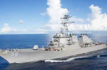Moscow Protests in Connection With Entry of US Destroyer in Russian Waters