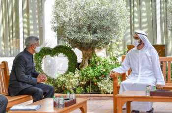 Mohammed bin Rashid receives message from Indian Prime Minister