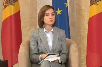 Moldova's Sandu Calls for Withdrawal of Russian Task Force, Weapons From Transnistria