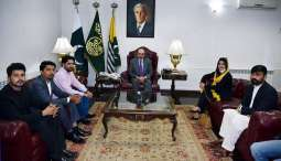 Masood Khan urges youth to highlight Kashmir issue on a global scale