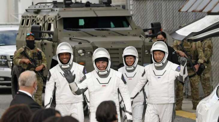 Crew of SpaceX's Crew Dragon Enter International Space Station - NASA