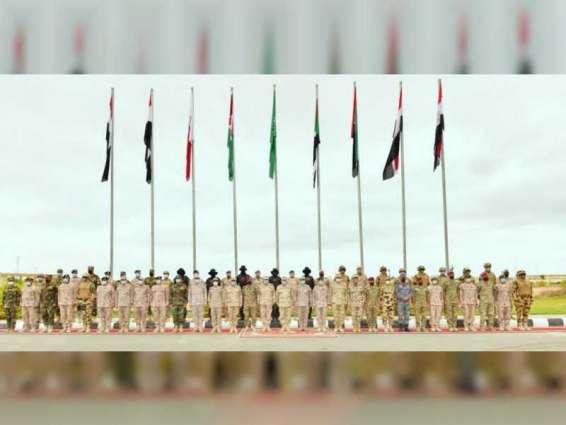 """وحدات من قواتنا المسلحة تشارك في فعاليات التدريب المشترك """"سيف العرب"""" في مصر"""