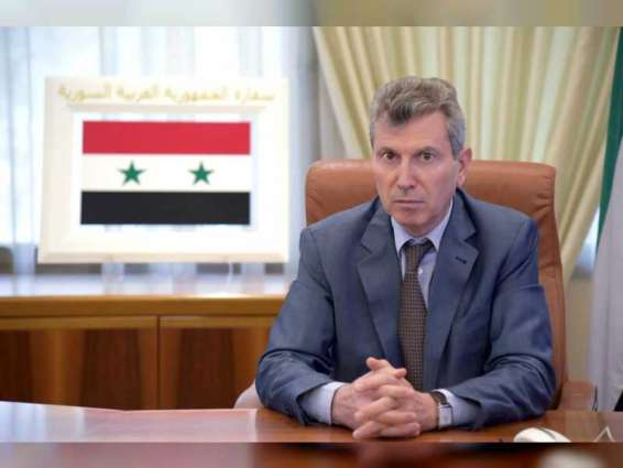 سفير سوريا يشيد بحسن استضافة معسكر منتخب بلاده لكرة القدم في الإمارات