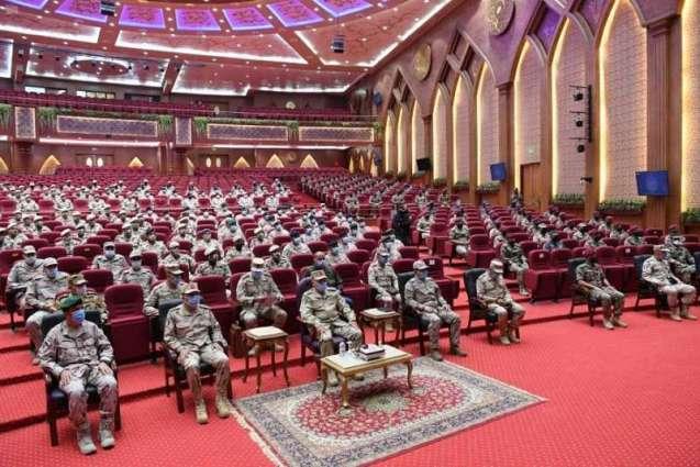 القوات المسلحة السعودية تشارك في مناورات التمرين المشترك