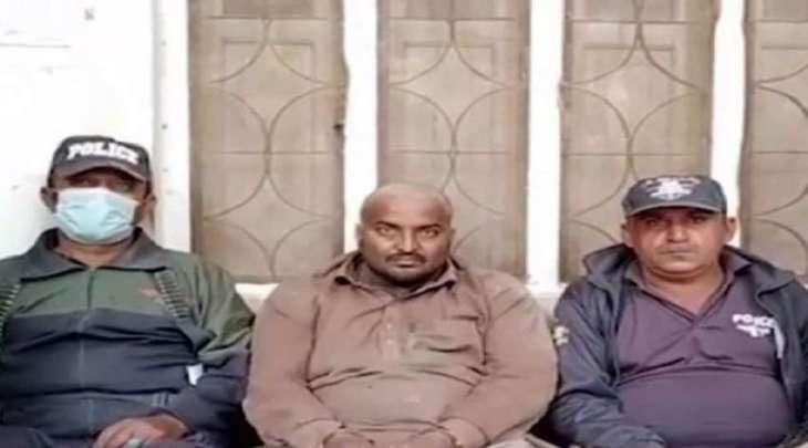 القبض علی رجل بتھمة اغتصاب أم و طفلتھا الصغیرة فی منطقة کشمور باقلیم السند