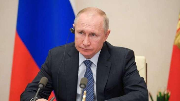 Putin Urges G20 to Abandon Protectionism, Sanctions