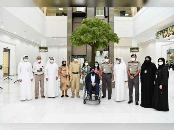 Two orphans, their grandparents granted UAE golden residency