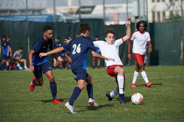 Foxes and La Liga Valencia make impressive starts as Dubai Sports Council Football Academies Championship kicks off