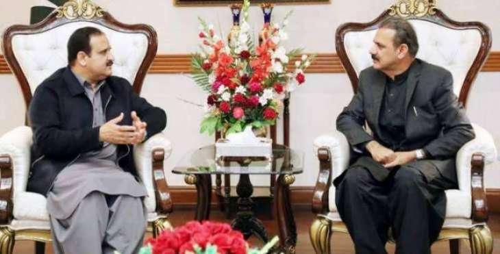 Buzdar, Asim Bajwa discuss progress on CPEC projects