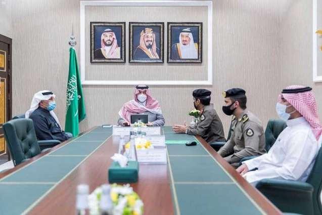 سمو الأمير فيصل بن خالد بن سلطان يدشن منصة نظام