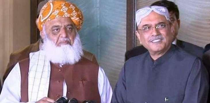 'Zardari asks Maulana Fazl to get rid of Nawaz Sharif'