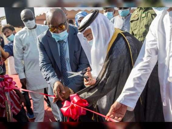 """الإمارات تفتتح """" مستشفى الشيخ محمد بن زايد الميداني """" في غينيا لمساعدتها بمواجهة """" كوفيد-19"""""""