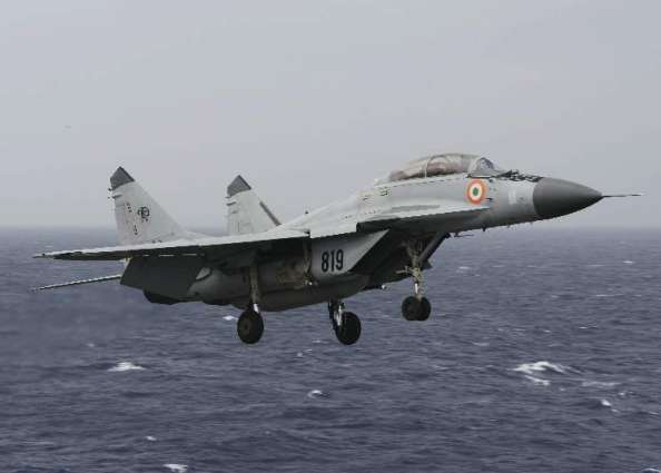 India loses MiG-29K trainer aircraft in Arabian sea